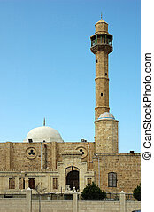 Old mosque in Tel-Aviv
