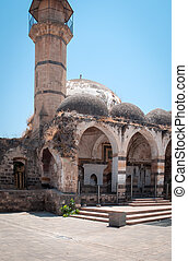 Old Mosque of Tiberias .
