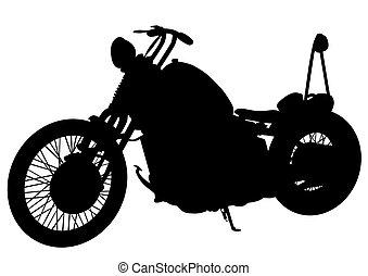 Old motor bike