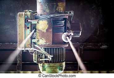 old motor for hook