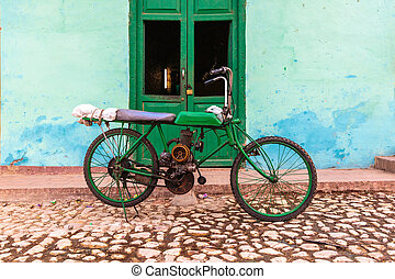 Old Motorbike, Trinidad - Typical and iconic old motorbike...