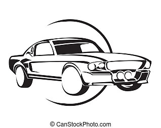 Old Muscle Car