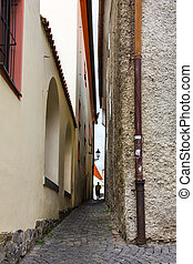 Old narrow street.
