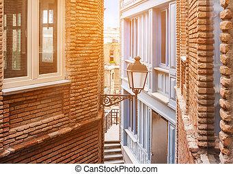 Old narrow street