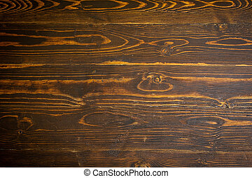 Old natural wooden background or texture