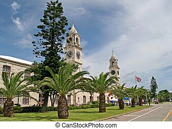 Old Naval Dockyard - The old naval dockyard on the island of...