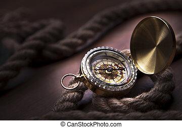 Old navigation equipment