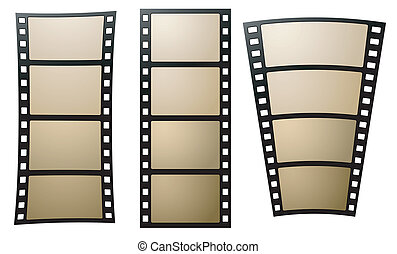 Old negative photo film