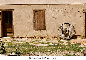 Old New Mexico Adobe Building