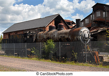 Northern Pacific Steam Locomotive - Old Northern Pacific...