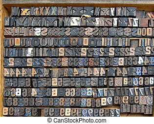 Old Numbers and Letters