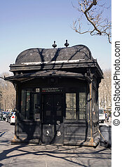 Old NYC Subway entrance