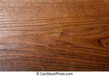 Old oak background with scratches