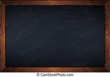 old oak blackboard