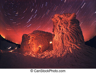 Old Observatory and the night sky