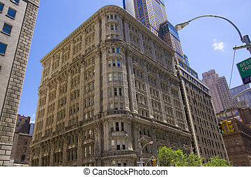 Old office building, New York City