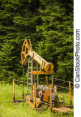 old oil pump
