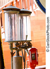 Old oil pump