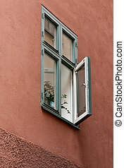 old open windows