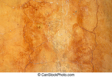 plaster - old orange plaster texture
