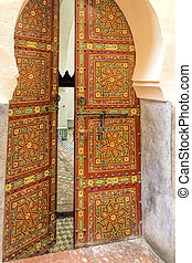 Old oriental door, Morocco