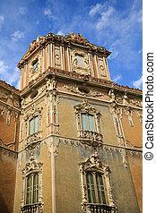 Old Ornate Building in Valencia Spain