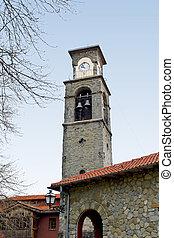 Old orthodox church at Metsovo village, Greece