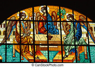 orthodox stained glass