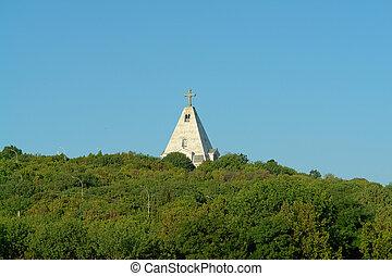 temple on mountain