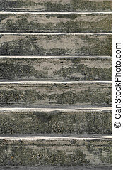 concrete steps - old painted concrete steps background
