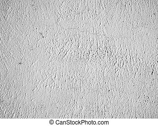 Old painted wall background. Black and white photo.