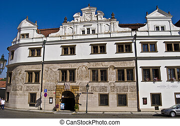 Old palaces in Prague