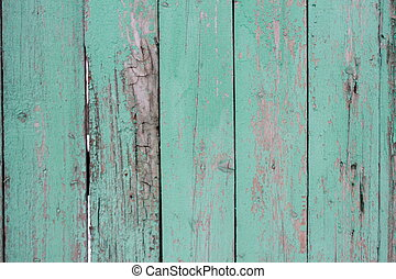 Old panted wood fence texture