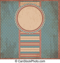 Old paper background in style scrap