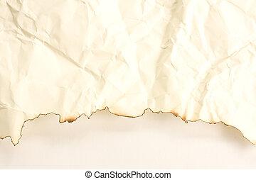 Old paper Burning art background
