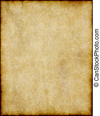 old paper - old worn parchment paper background texture...