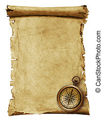 Old paper -scroll