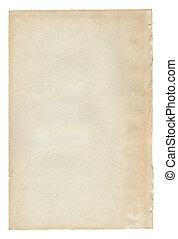 Old paper texture. Antique background scroll for text on white