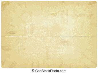 Old paper texture - vector illustration