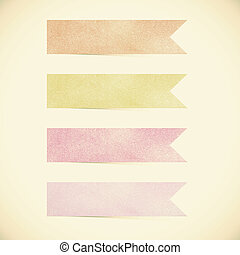 Old Paper texture ,Talk tag on vintage tone background