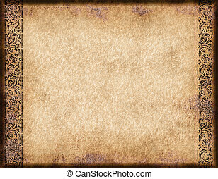 old parchment or paper