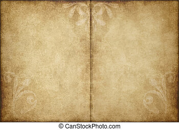 old parchment paper - great image of old and worn parchment...