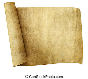 old parchment scroll