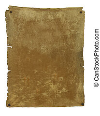 Old Parchment template background - 3D illustration...