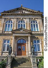 Old part of the Felix-Nussbaum-Haus museum in Osnabruck,...