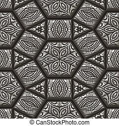 old patterned pewter metal backgound