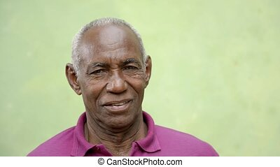 Old people portrait, senior men - Elderly people portrait,...