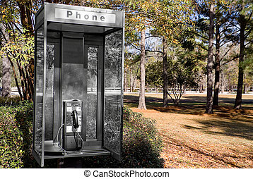 Old Phone Booth - An Old Phone Booth at a roadside rest...