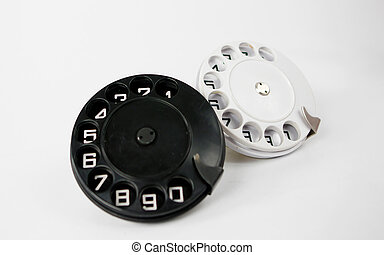old phone dials