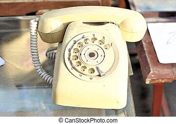 old phone vintage style